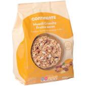 Cereais Muesli Crunchy Frutos Secos Continente (emb. 500 gr)