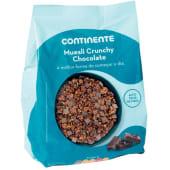 Cereais Muesli Crunchy Chocolate Continente (emb. 500 gr)