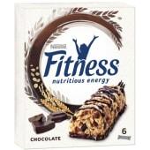 Barras de Cereais Fitness Chocolate Nestlé (emb. 6 x 23,5 gr)