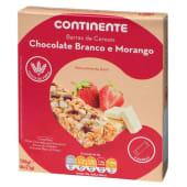 Barras de Cereais Morango/Chocolate Branco Continente (emb. 125 gr)