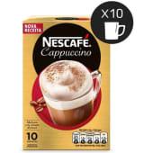Cappuccino Café Solúvel Nescafé (emb. 10 x 14 gr)