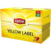 Chá Preto Yellow Label Lipton (20 un)