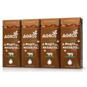 Leite Achocolatado Agros (emb. 4 x 200 ml)