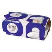 Iogurte Grego Natural Continente (emb. 4 x 125 gr)