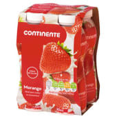 Iogurte Líquido Morango Continente (emb. 4 x 160 gr)