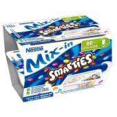 Iogurte Bi-Compartimentado Smarties Mix In Nestlé (emb. 2 x 128 gr)