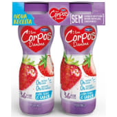 Iogurte Líquido Magro Morango Corpos Danone (emb. 4 x 155 gr)
