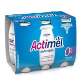 Actimel Natural 0% Actimel Danone (emb. 6 x 100 gr)