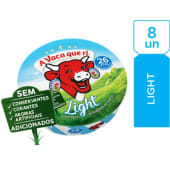 Queijo Fundido Light A Vaca que ri (emb. 140 gr (8 un))