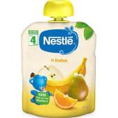 Pacotinho Naturnes 4 Frutas Nestlé (emb. 90 gr)