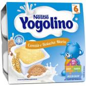 Yogolino Cereais e Bolachas Maria Nestlé (emb. 4 x 100 gr)