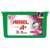 Detergente Máquina Roupa Cápsulas 3 em 1 Fresh Sensations Ariel (38 doses)
