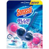 Bloco Sanitário Blue Activ Floral Sonasol (1 un)