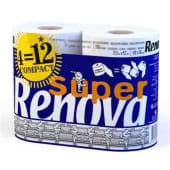 Papel Higiénico Super Compacto Renova (4 =12)
