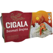 Arroz Pronto a Comer Basmati Brajma Cigala (emb. 2 x 125 gr)