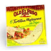 Tortilhas Mexican de Trigo Old El Paso (emb. 244 gr)
