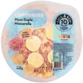 Pizza de Fiambre e Dupla Mozzarela Continente Fácil & Bom (emb. 440 gr)