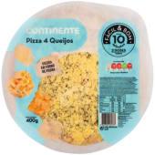 Pizza 4 Queijos Continente Fácil & Bom (emb. 400 gr)