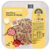 Pizzas Mini Fiambre e Queijo Fácil & Bom (emb. 225 gr)