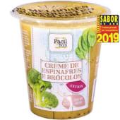 Creme de Espinafres e Bróculos Continente Equilibrio (emb. 250 gr)