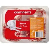 Mini Tiras de Bacon Continente (emb. 2 x 60 gr)