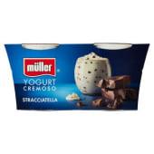 Müller, yogurt cremoso alla stracciatella conf. 2x125 g