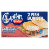 Findus, Capitan Fish Burger surgelati 2 pezzi 227 g