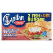 Findus, Capitan Fish & Chips Burger surgelati 227 g