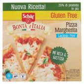 Schär, Bontà d'Italia pizza Margherita Lactose free senza glutine surgelata 350 g
