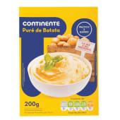 Puré de Batata com Leite Continente (emb. 200 gr)