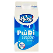 Mukki, Il latte PiùDì intero 1,5 l
