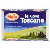 Maia, Le uova Toscane 6 uova fresche grandi