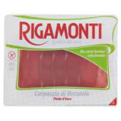 Rigamonti, carpaccio di bresaola punta d'anca a fette 90 g