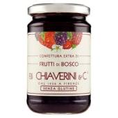 F.lli Chiaverini & C., confettura extra di frutti di bosco 370 g