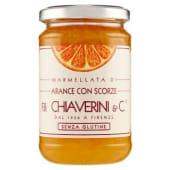 F.lli Chiaverini & C., marmellata di arance con scorze 370 g