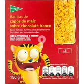 Barritas de copos de maíz tostados y azucarados