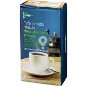 Café descafeinado molido mezcla 50-50