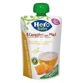 Papilla 8 cereales con miel lista para tomar solitos formato bolsita pouche