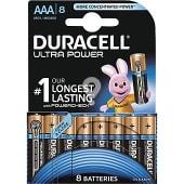 Pila alcalina AAA (lr03 - mx2400) 1,5 voltios blister 8 unidades