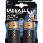 Pila alcalina D2 (lr20 - mx1300) 1,5 voltios blister 2 unidades
