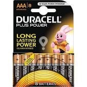 Pila plus power alcalina AAA (lr3 - mn2400) 1,5 voltios blister 8 unidades
