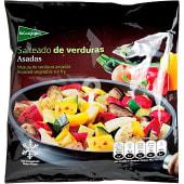 Salteado de verduras asadas