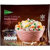 Arroz 3 delicias tradicional 2 raciones bolsa 500 g