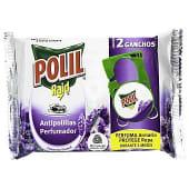Colgador antipolillas con olor a lavanda