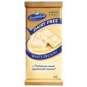 Chocolate blanco sin lactosa sin gluten