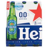 Heineken, 0.0% Lager Beer conf. 3x33 cl