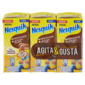 Nestlé, Nesquik, Agita e Gusta bevanda a base di latte e cacao conf. 3x180 ml
