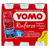 Yomo, Rinforzo latte fermentato al lampone melograno e açai conf. 6x90 g