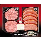 Lomo adobado de cerdo iberico peso aproximado bandeja 390 g
