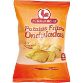 Patatas fritas onduladas